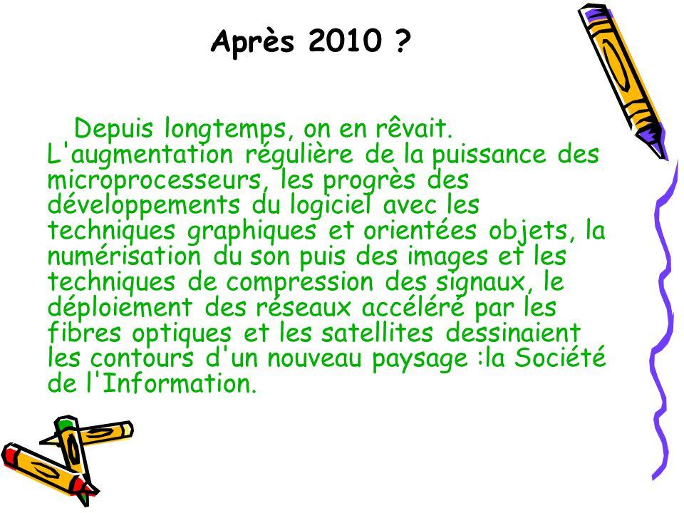 Après 2010