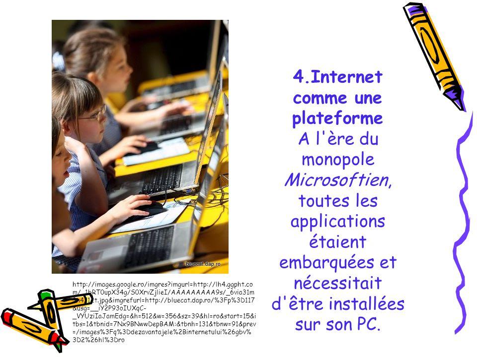 4.Internet comme une plateforme