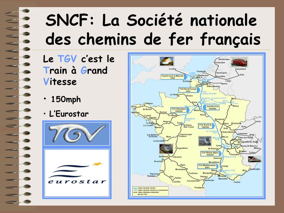 SNCF: La Société nationale des chemins de fer français