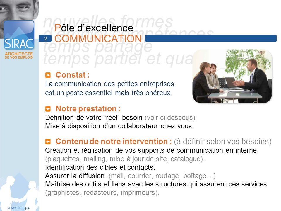 Pôle d'excellence COMMUNICATION