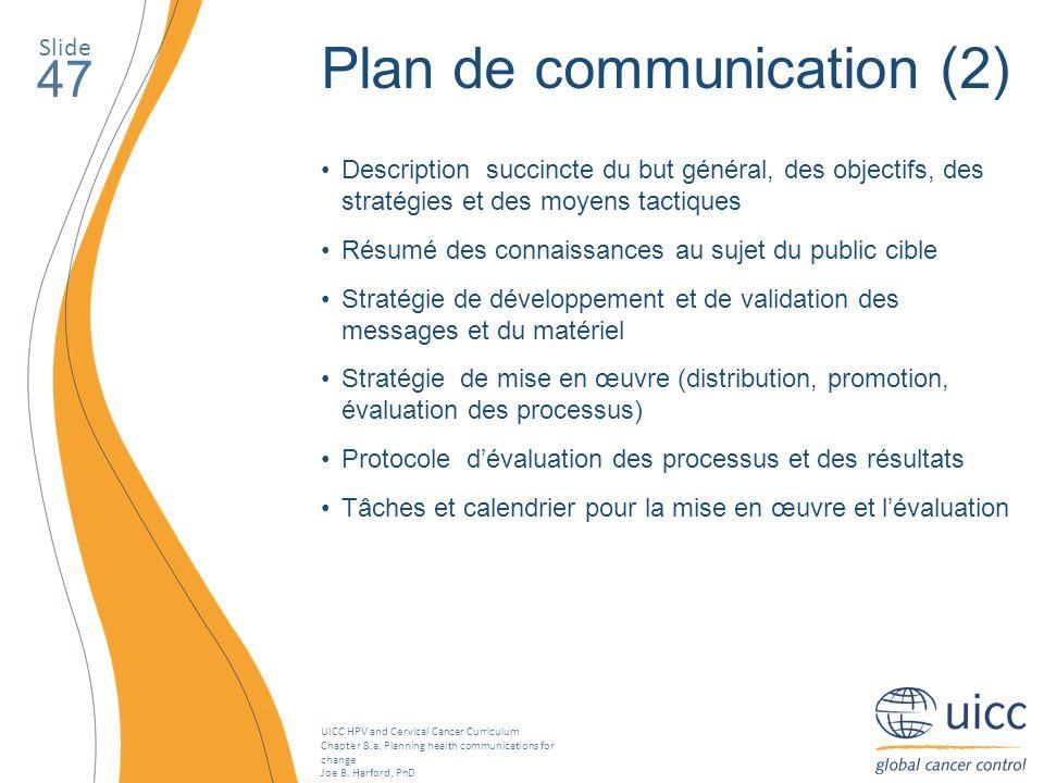 Plan de communication (2)