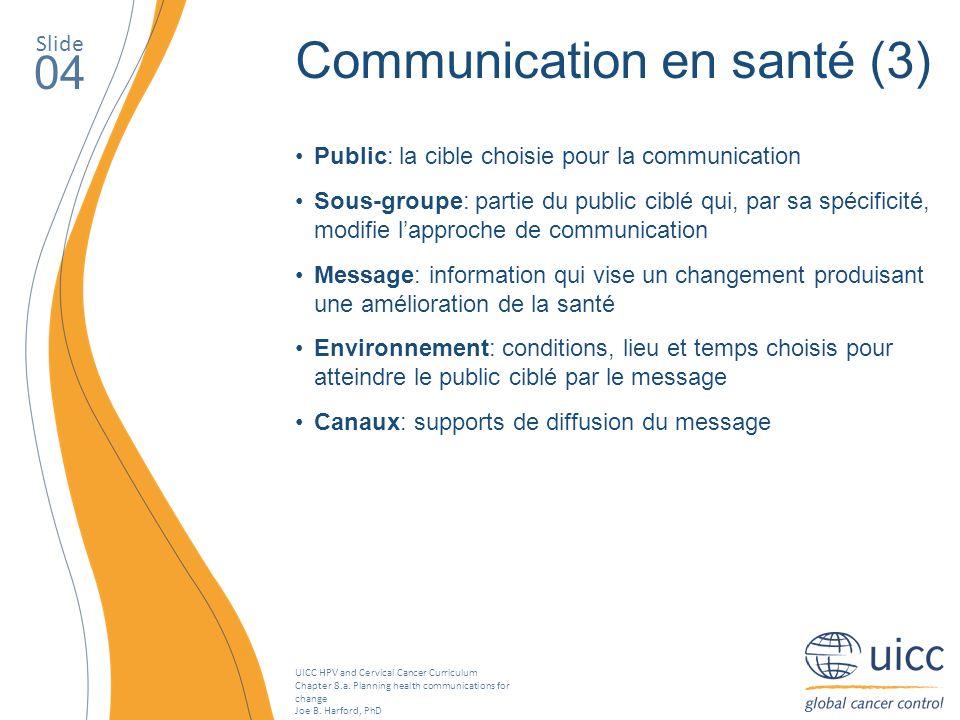 Communication en santé (3)