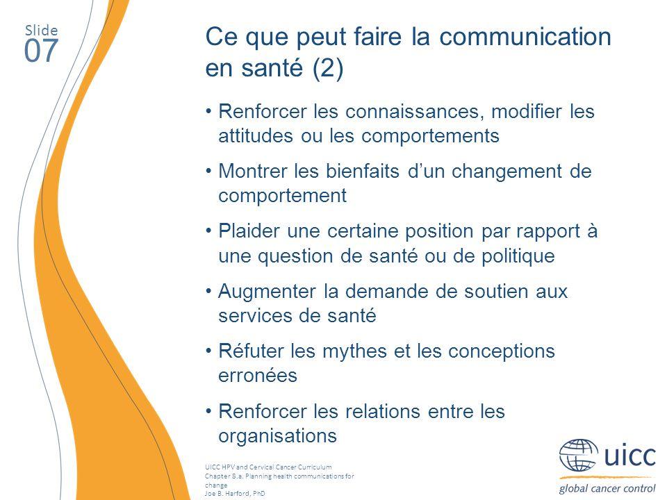 07 Ce que peut faire la communication en santé (2)