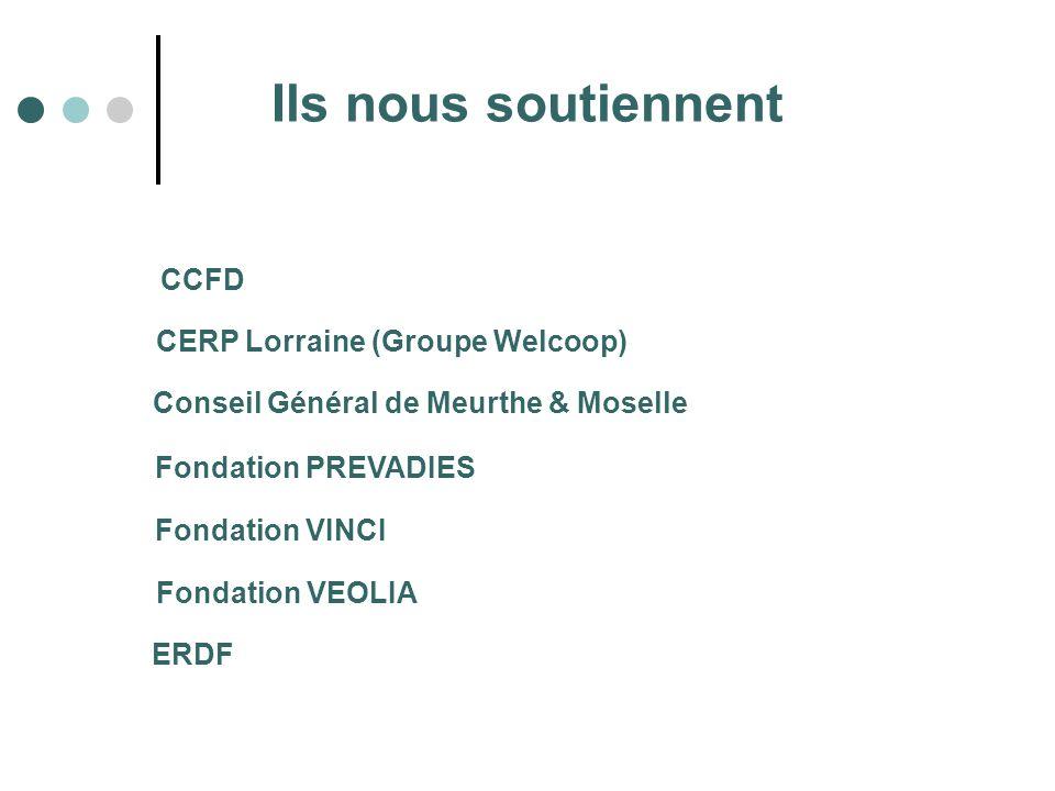 Ils nous soutiennent CCFD CERP Lorraine (Groupe Welcoop)