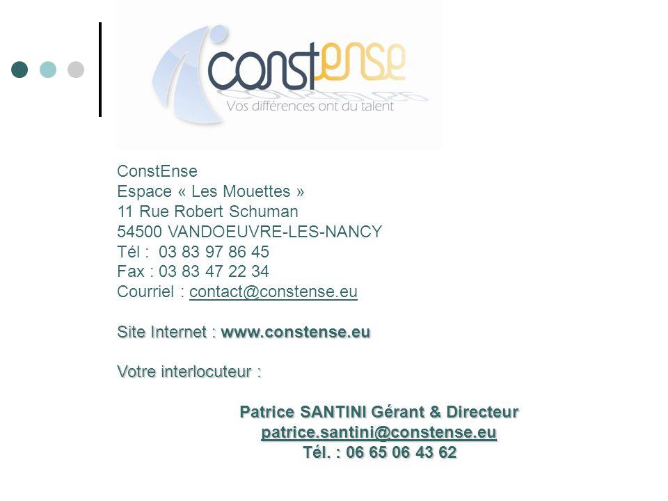 Patrice SANTINI Gérant & Directeur