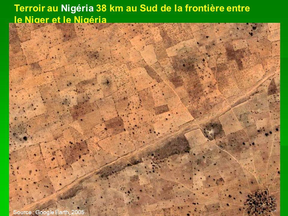 Terroir au Nigéria 38 km au Sud de la frontière entre
