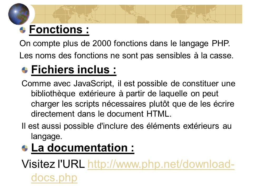 Visitez l URL http://www.php.net/download-docs.php