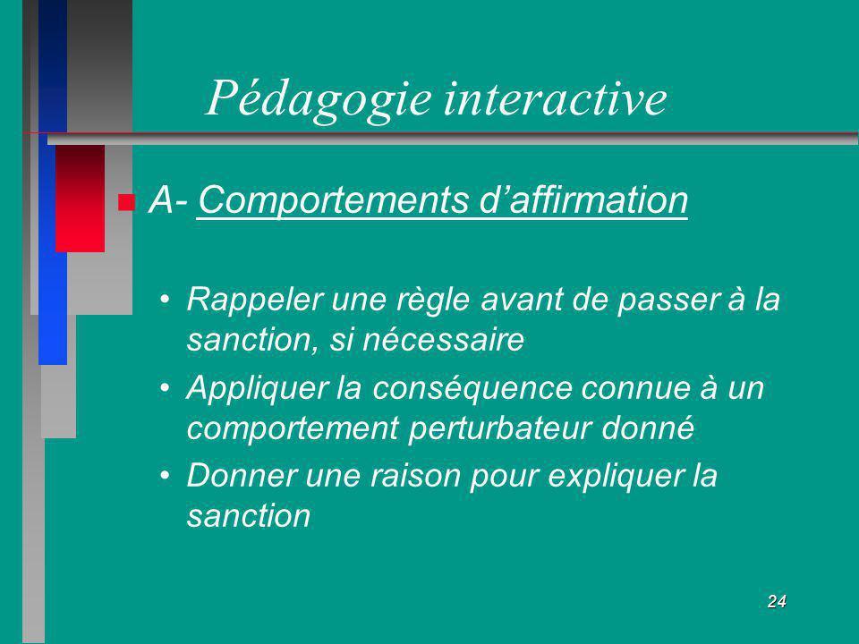 Pédagogie interactive