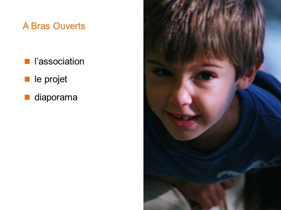A Bras Ouverts l'association le projet diaporama