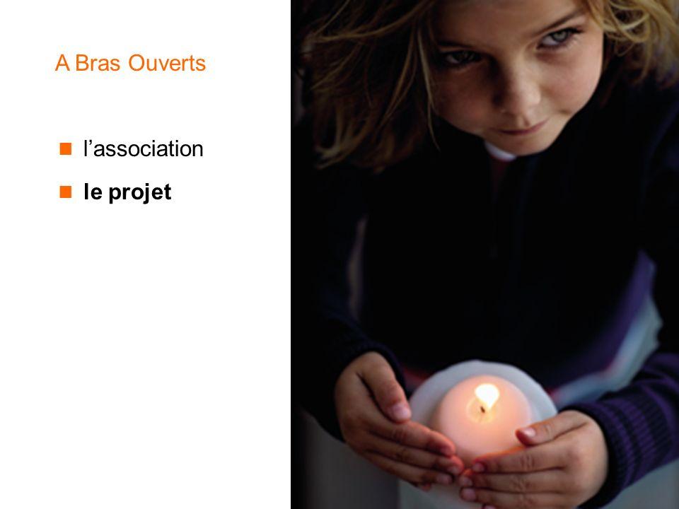 A Bras Ouverts l'association le projet