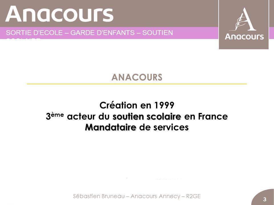 3ème acteur du soutien scolaire en France Mandataire de services
