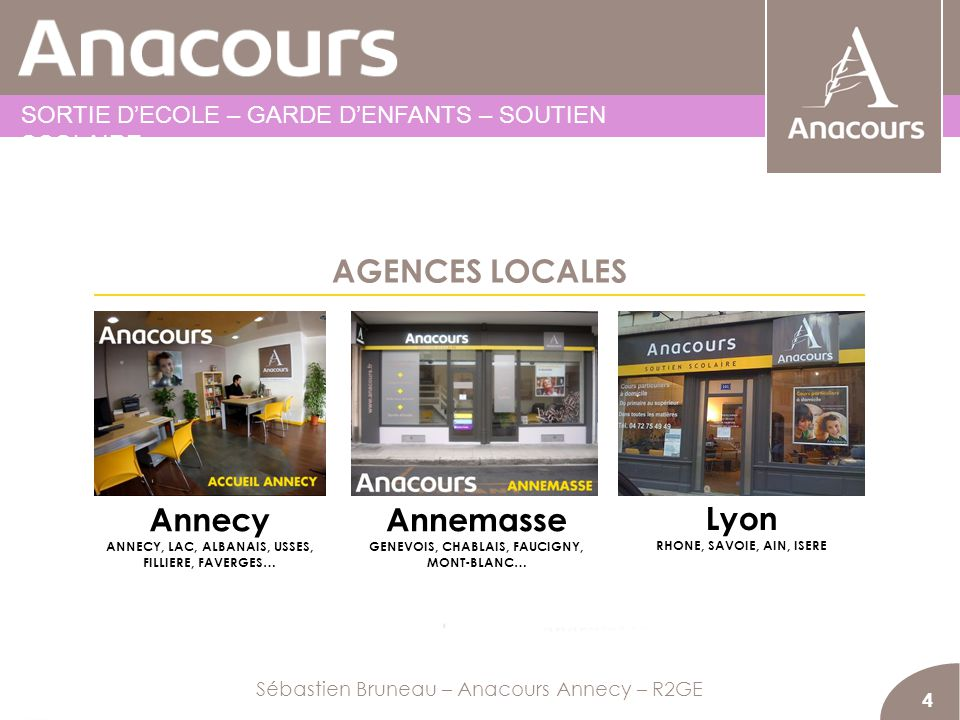 AGENCES LOCALES Annecy Annemasse Lyon