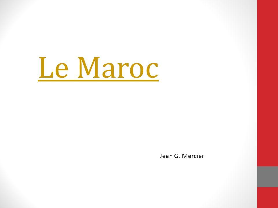 Le Maroc Play l'hymne national Jean G. Mercier