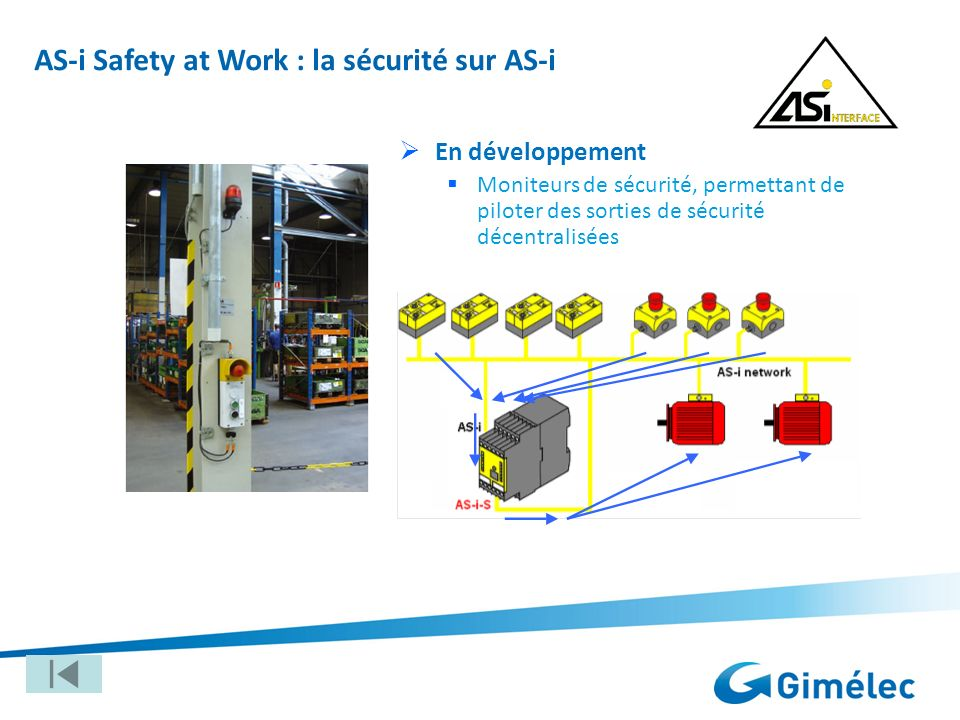 AS-i Safety at Work : la sécurité sur AS-i