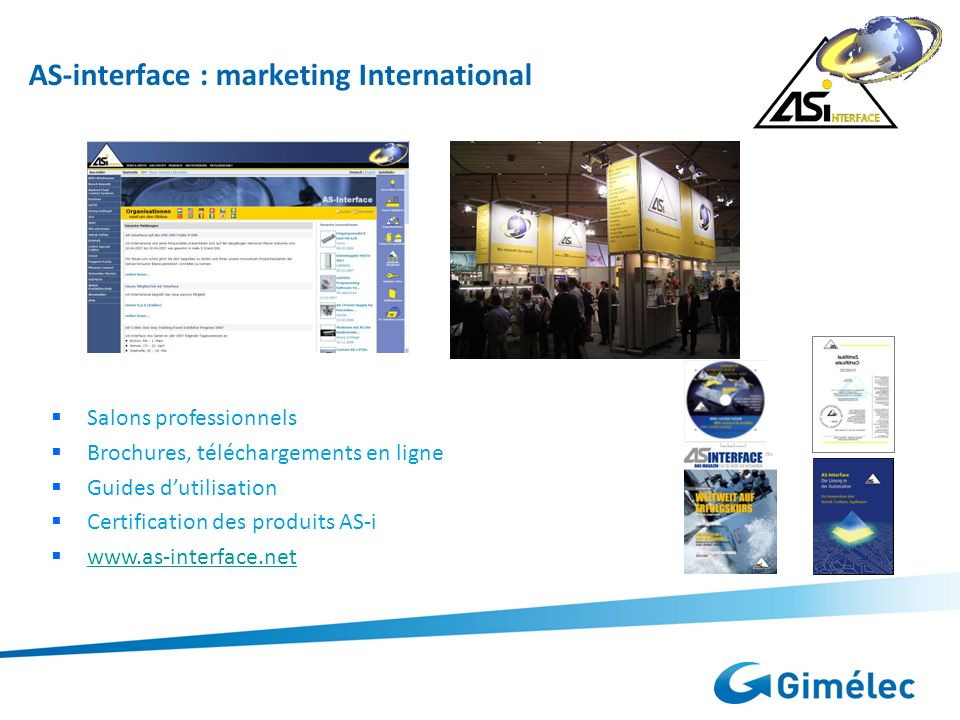 AS-interface : marketing International