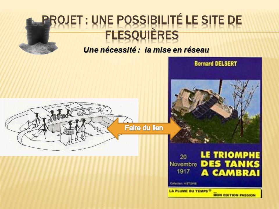 Projet : Une possibilité le site de Flesquières