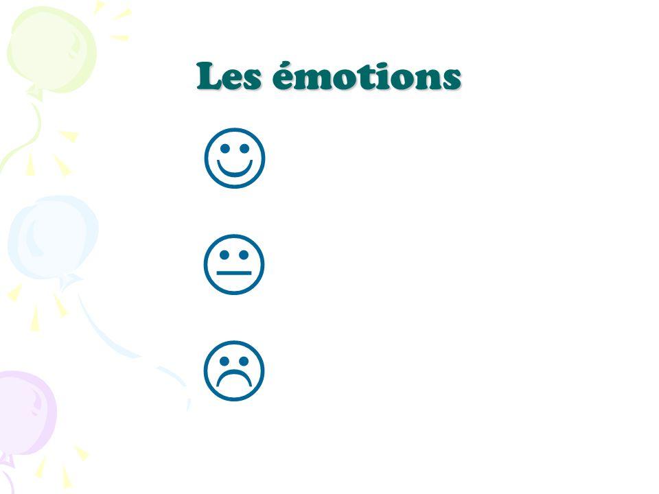Les émotions J K L