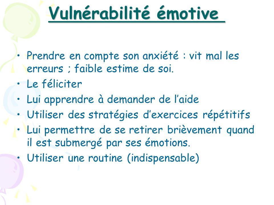 Vulnérabilité émotive