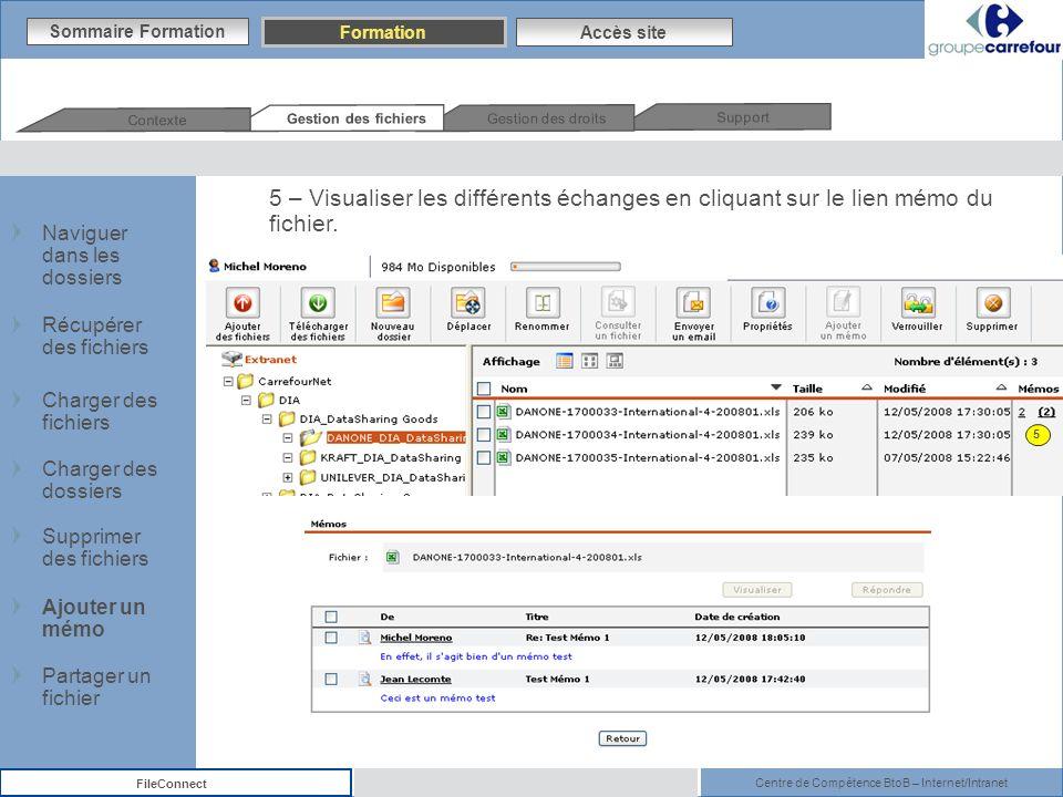 Contexte Gestion des fichiers. Gestion des droits. Support. Sommaire Formation. Formation. Accès site.