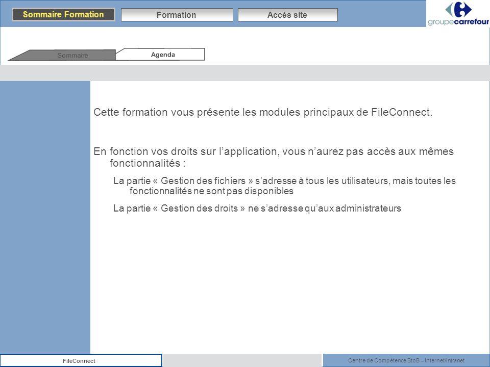 Cette formation vous présente les modules principaux de FileConnect.