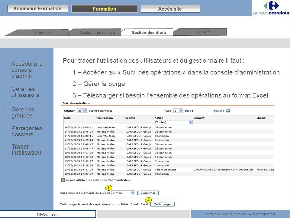 3 – Télécharger si besoin l'ensemble des opérations au format Excel