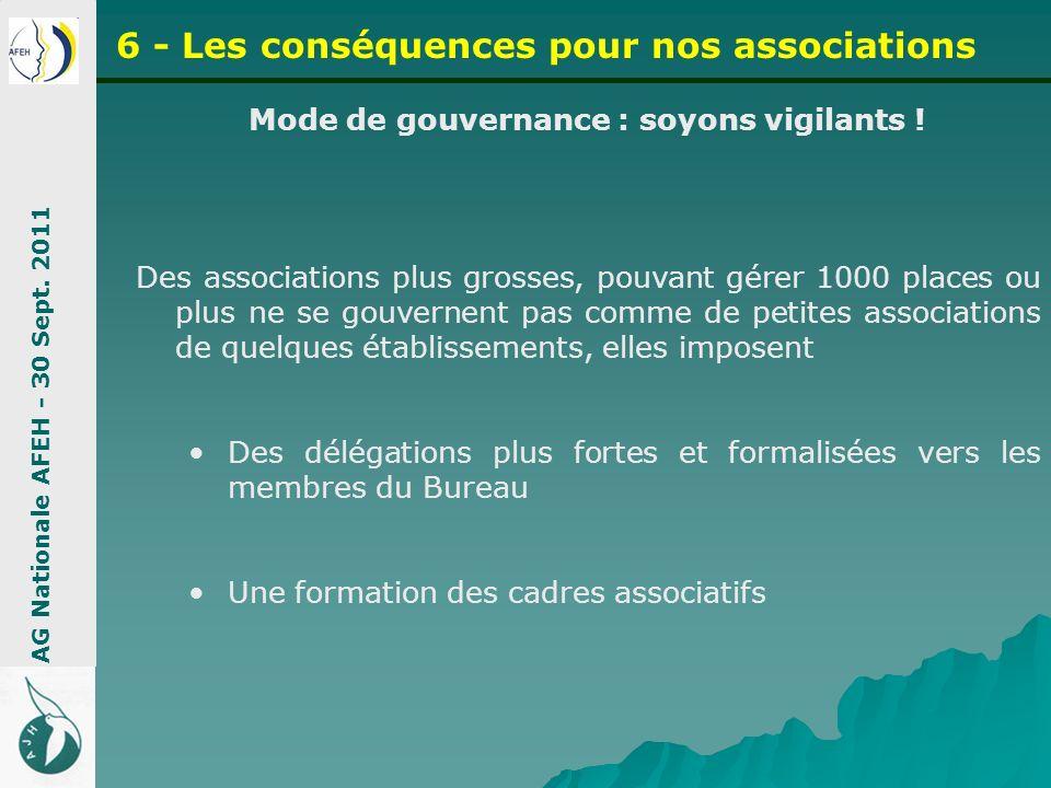 Mode de gouvernance : soyons vigilants !