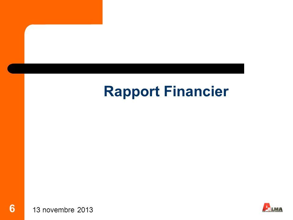 Rapport Financier 6 25 mars 2017 6