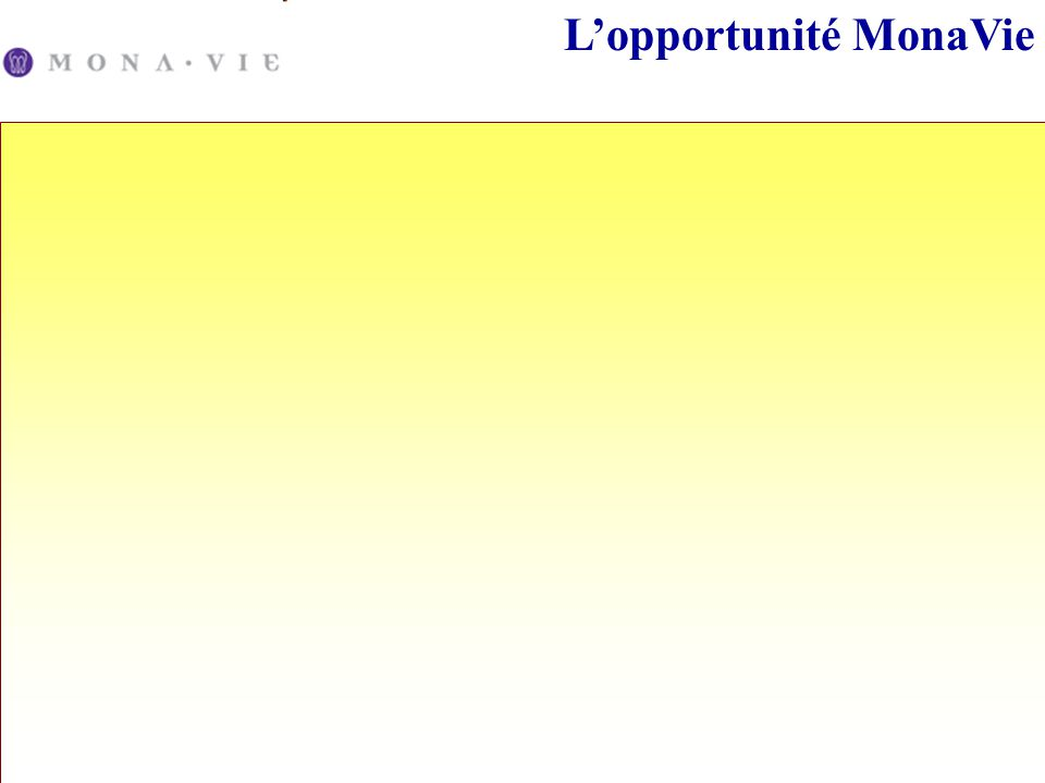 L'opportunité MonaVie