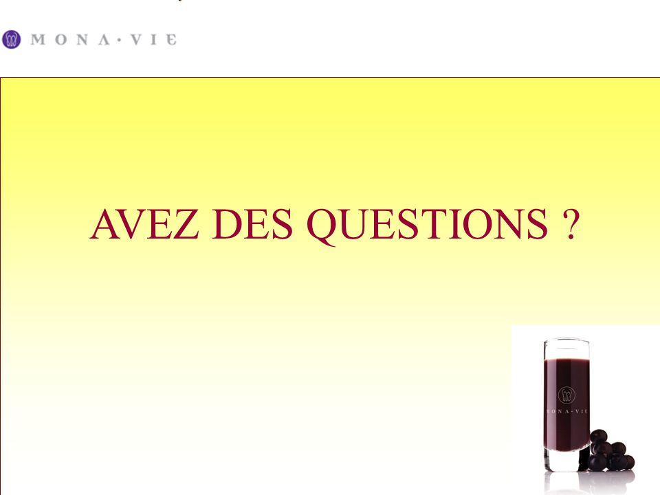 AVEZ DES QUESTIONS