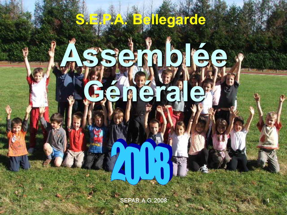 S.E.P.A. Bellegarde Assemblée Générale 2008 SEPAB, A.G. 2008