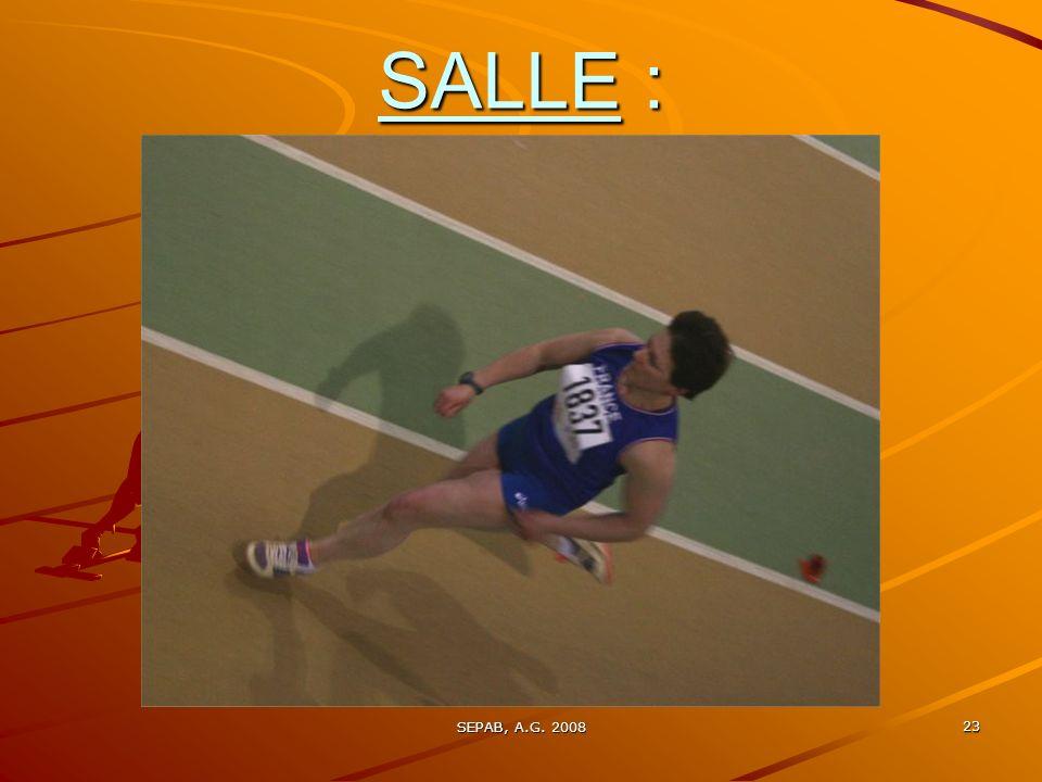 SALLE : SEPAB, A.G. 2008
