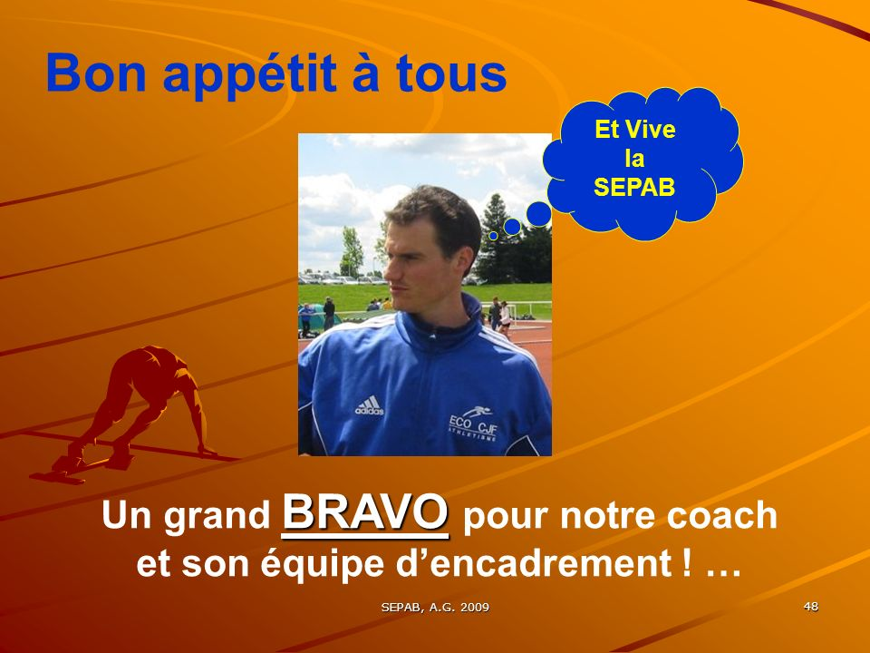 Un grand BRAVO pour notre coach et son équipe d'encadrement ! …
