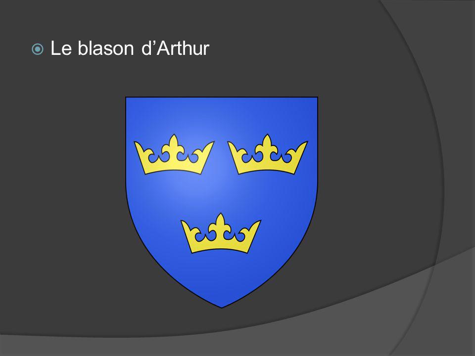 Le blason d'Arthur