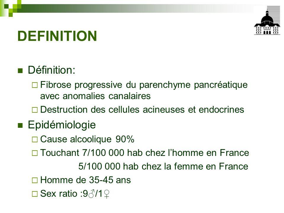 DEFINITION Définition: Epidémiologie