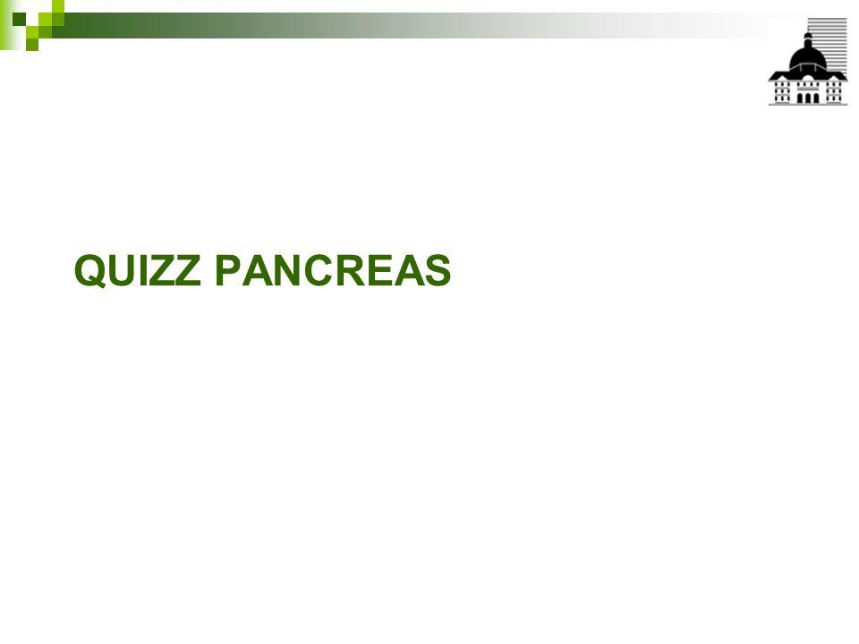 QUIZZ PANCREAS
