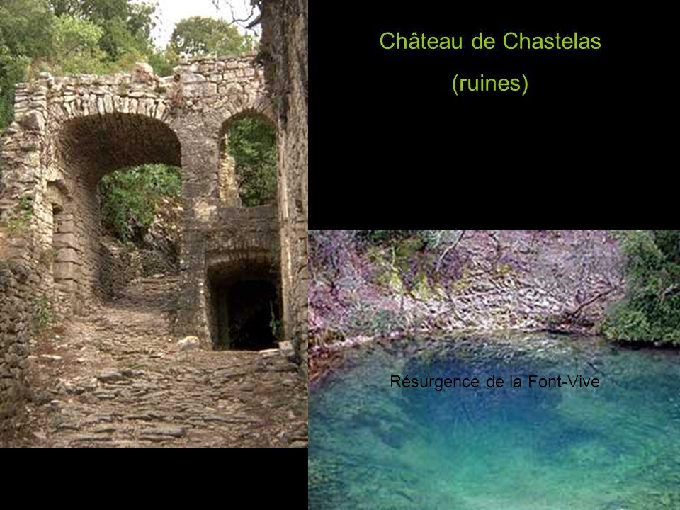 Château de Chastelas (ruines)