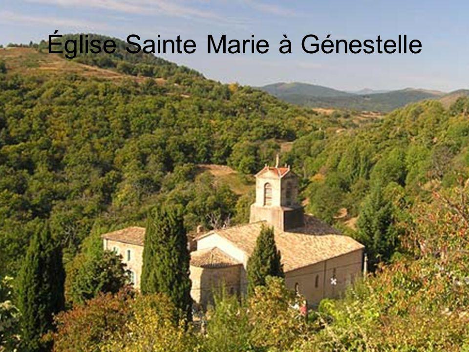 Église Sainte Marie à Génestelle