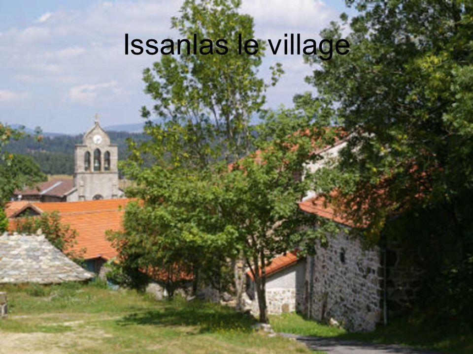 Issanlas le village