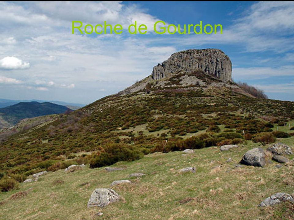 Roche de Gourdon
