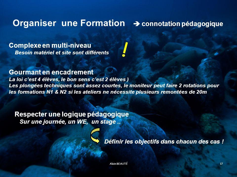 Organiser une Formation  connotation pédagogique