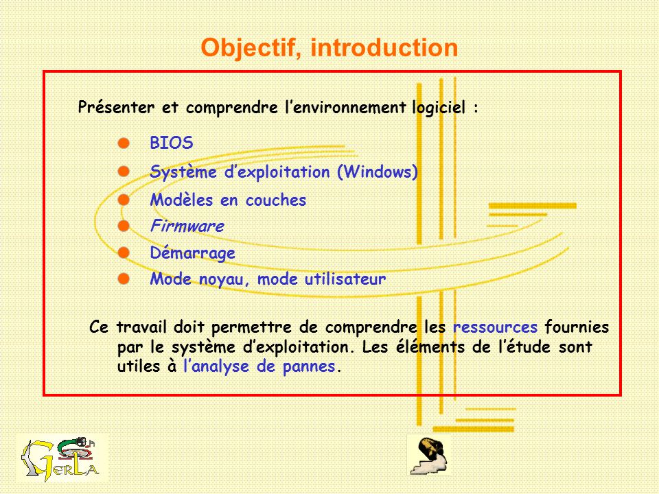 Objectif, introduction