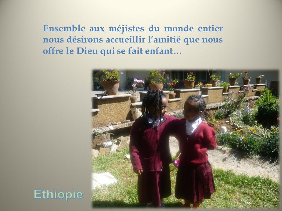Ensemble aux méjistes du monde entier nous désirons accueillir l'amitié que nous offre le Dieu qui se fait enfant…