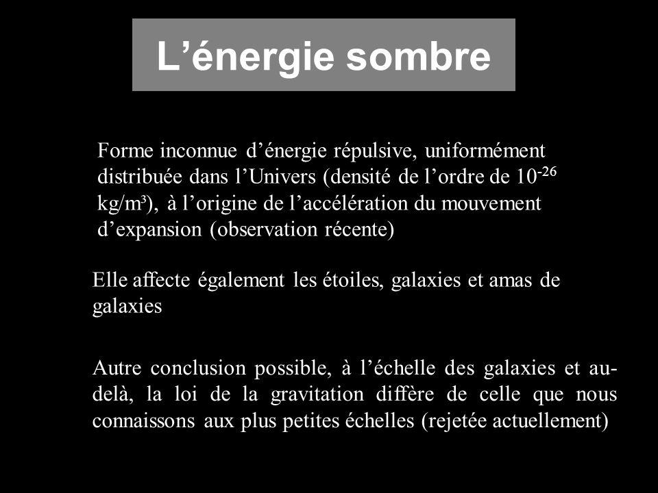 L'énergie sombre