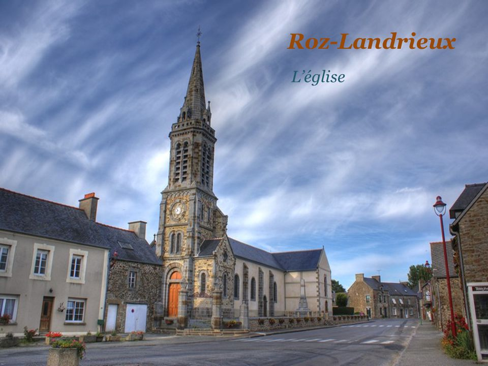 Roz-Landrieux L'église