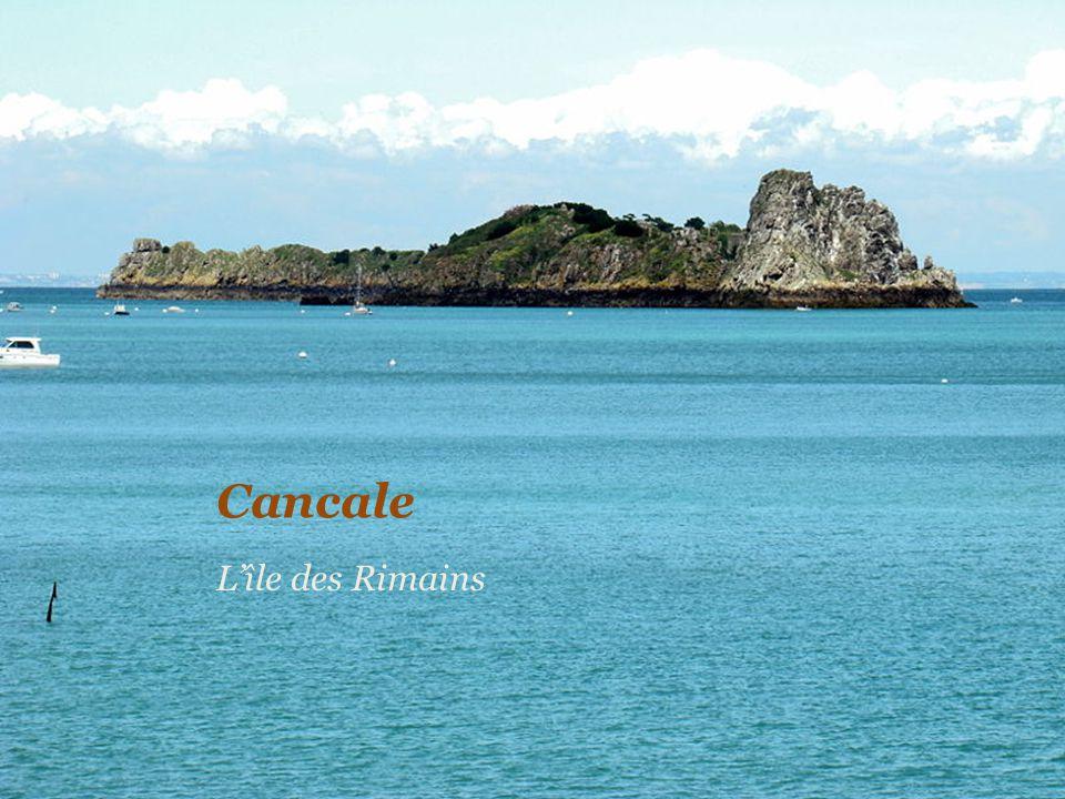 Cancale L'île des Rimains