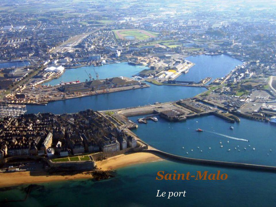 Saint-Malo Le port