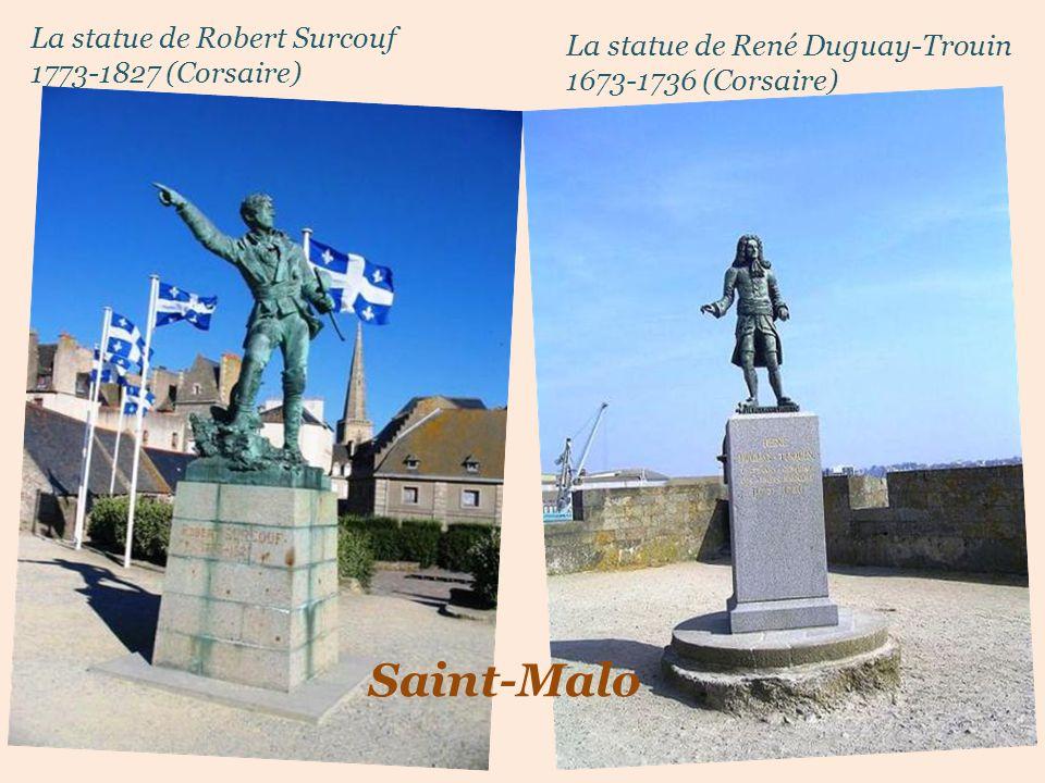 La statue de René Duguay-Trouin 1673-1736 (Corsaire)