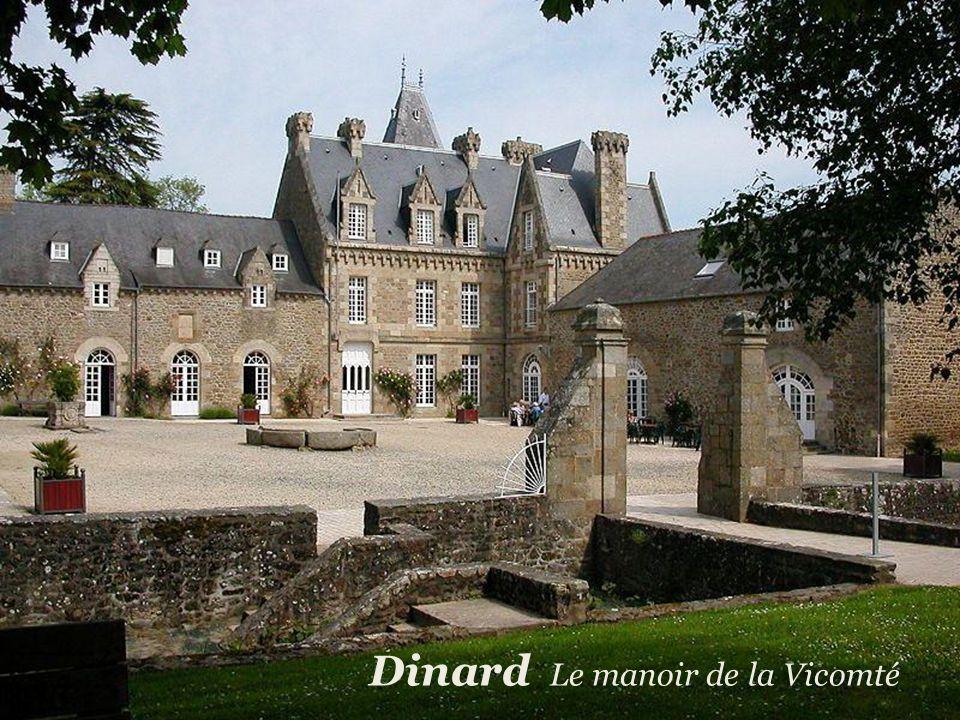 Dinard Le manoir de la Vicomté