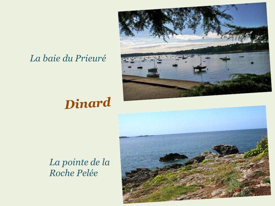 La baie du Prieuré Dinard La pointe de la Roche Pelée