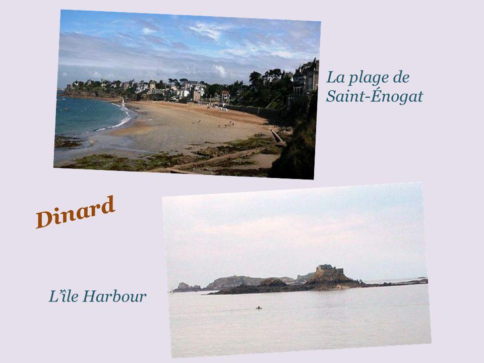 La plage de Saint-Énogat